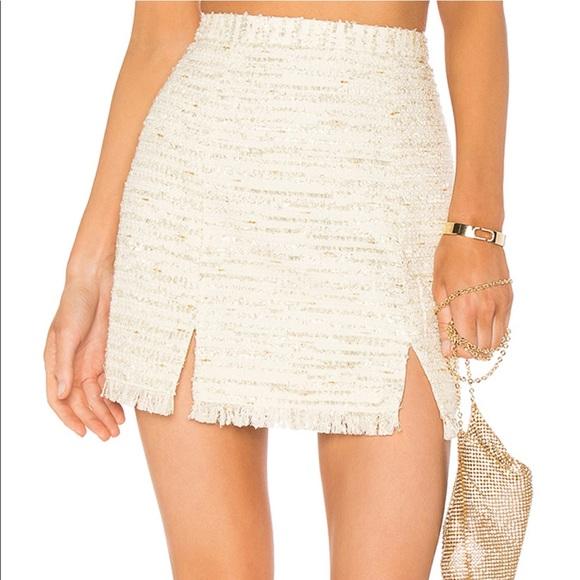 NBD Dresses & Skirts - Brand new & never been worn NBD tweed shirt